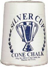 2 Hand Chalk Cone Set Powder White Talc Chalker for Pool Table Playing Billiards