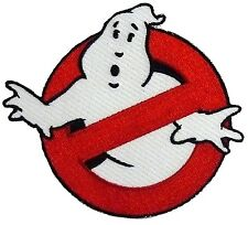 Ghostbuster Movie Uniform GHOST GLOW IN THE DARK PATCH Halloween Costume Iron On