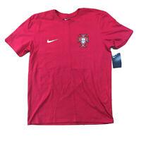 Nike Mens Portugal Christiano Ronald Soccer Jersey Shirt Sz Medium NEW NWT