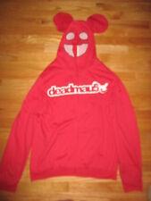 Rare Progressive-House Music Producer Deadmau5 (Lg) Sweatshirt w/ Maus Head Hood