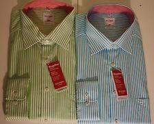 Gestreifte klassische Herrenhemden mit Sportmanschette Olymp
