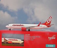 Herpa Wings 1:500 Boeing 737-800  Corendon  PH-CDH  531399  Modellairport500