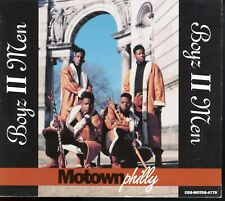 "BOYZ II MEN MotownPhilly 5-Track 1991 CD w/Rare 12"" Remixes/Dub Mix/LP Version"