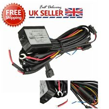 DRL LED Daytime Running Light Relay Harnes Automatic On Off Control Switch