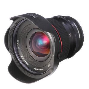 Meike 12mm F2.8-F22 Super Wide Angle Fisheye Lens MF For Nikon 1 Mount V1 J3 J5