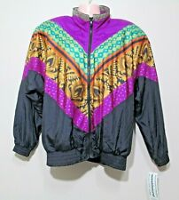 NWT Westbound Sport Womens Vintage Jacket ORNATE Multi Color Size S