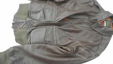 USAAF A-2 Leather Flight Jacket Size  42 MFG Avirex Horse Hide 1978