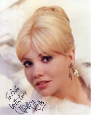 HAYLEY MILLS HAND SIGNED 8x10 COLOR PHOTO+COA      GORGEOUS POSE        TO BOB