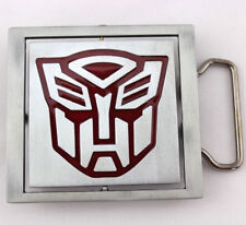 Transformers Autobot Decepticon Reversible Metal Fashion Belt Buckle
