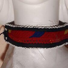 Belly Dance Bellydance Kuchi Tribal Embroidered CHOKER 798a4