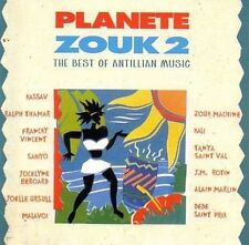 Planete Zouk 2-The Best of Antillian Music Kassav, Ralph Thamar, Francky .. [CD]