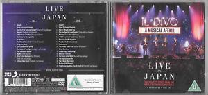 IL DIVO / A MUSICAL AFFAIR (Live In Japan) / 2014 CD ALBUM + DVD Set
