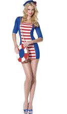 Sassy Sailor Girl Costume Sexy Ladies Navy Fancy Dress Halloween Hen Party