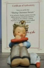 Berta Hummel Ornament Sharing Christmas Sweets Goebel Ashton Drake W/ Coa 1997