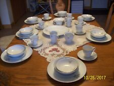 Mikasa Vintage Porcelain China Silver Maple Pattern 5600 Grouping 51 Pieces