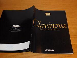 publicité YAMAHA CLAVINOVA clavier piano CLP-170 150 130 120 115 PUB advertising