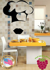 Wall Stickers Vinyl Decal  Food Business Kitchen Cook z632