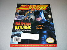 May 1993 Nintendo Power Strategy Guide Vol. 48 Batman Returns Cover Bubsy Poster