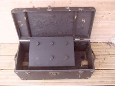 """Vintage Trunk For Restoration 24"""" x 11"""" x 10 1/2"""" - As Photo"""