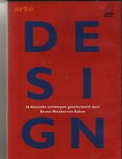 4 DVD BOX  ARTE / DESIGN par BRUNO NINABER VAN EYBEN FRANCAIS / NL REGION 2 pal