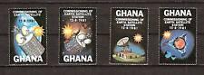 GHANA # 755-8 Mint SPACE EXPLORATION SATELLITE STATION
