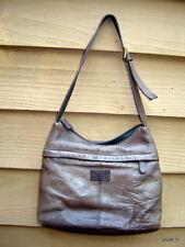 SONOMA JEAN COMPANY tan-brown leather purse handbag w/wallet shoulder bag