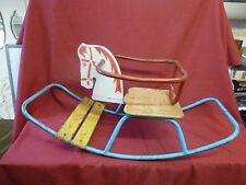 Vintage 1960s Original Dutch Design Child's Rocking Horse