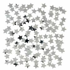 14g Silver Star Confetti Party Celebration Decorations Birthday Wedding Prom