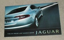 Jaguar XF Price Guide 2009 3.0 LUXE V6 Luxe Premium Portefeuille XFR 5.0 V8