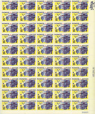 SCOTT #1556   SHEET  PIONEER-JUPITER  10 CENT    MNH