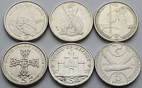 Isle of Man 5p coin set - Circulated
