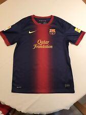 * FC Barcelona Camiseta de fútbol Barcelona ~ ~ ~ 12-13 años de edad Nike ~ 2012/13 *