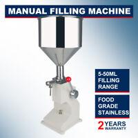 A03 Manual Filling Machine For Cream & Shampoo & Cosmetic,Liquid 5~50ml CE