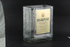 New listing Disaronno Amaretto Glass Made From Original 1 Liter Bottle