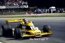 Jean-Pierre JABOUILLE RENAULT RS01 ITALIANO Grand Prix 1977 fotografia 1