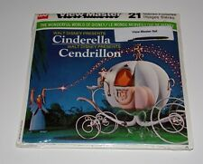1965 ViewMaster B318-C Disney Cinderella Canada Edition French/English RARE NOS