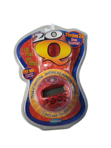 Radica 20Q QUESTIONS Electronic Handheld Game Purple Changes Color 2007 SEALED