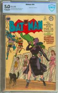 BATMAN #84 CBCS 5.0 OW/WH PAGES