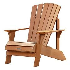 Lifetime Adirondack Chair 60064 Simulated Wood Patio Furniture