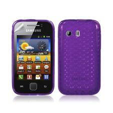 Housse étui coque gel diamant pour Samsung Galaxy Y S5360 couleur violet