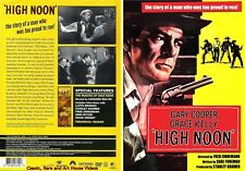 High Noon ~ New DVD ~ Gary Cooper, Grace Kelly (1952)