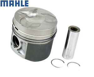 Engine Piston w/Rings 6160306817 Mahle Mercedes Benz W123 240D 300D 300CD 300TD
