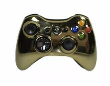 Xbox 360 Wireless Controller - Special Edition Chrome Gold - Tested - Model 1403