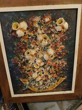 1950 Era Oil Painting by Marilyn Sienkiewicz  (1922-2017) Three Dimensional