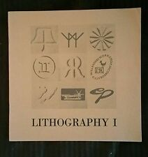 Lithography 1: First Biennial Exhibition of Contemporary Lithography, 1975 FINE