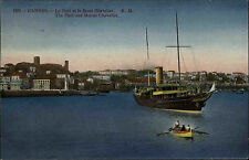 Schiffe 1927 Marine Frankreich CANNES Port Le Mont Chevalier Segelschiff Ship