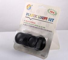 New Watchmaker Loupe Combo Set-10x & 5x Magnifier Loop Jeweler Microscope Glass