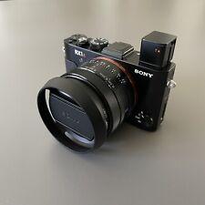Sony RX1R II 42,4 Megapixel 35mm F2 Zeiss Objektiv Vollformat Cyber-Shot DSC RX