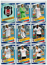 18x Besiktas Team Set  Match Attax Championsleague 16/17