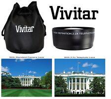 Pro Hd4 Vivitar Optics 2.2x Telephoto Lens for Fujifilm FinePix Hs50exr Hs35exr